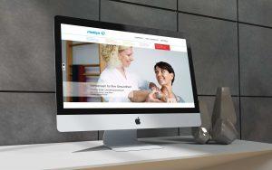Webseite für Medsyn - von G BRANDING