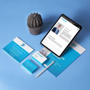 comprei Branding verschiedener Kommunikationsmassnahmen - Print und Online